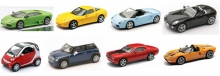 NEWRAY 19267 NEW 1/43 DIE CAST CAR ASSORTMENT