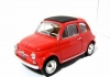 BURAGO 12020 1:18 FIAT 500 F 1965 RED OR WHITE OR BLUE