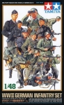 TAMIYA 32512 1:48 WWII GERMAN INFANTRY S