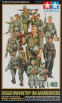 TAMIYA 32530 1:48 WWII GERMAN INFANTRY O