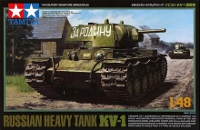 TAMIYA 32535 1:48 RUSSIAN KV 1 HEAVY TAN