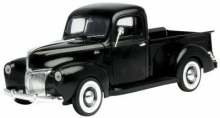MOTORMAX 73170 1:18 FORD PICKUP 40 BLACK OR RED